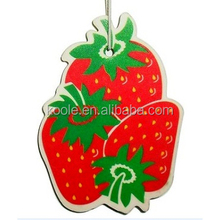 Fruits strawberry shaped bulk car air fresheners