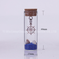 glass bottle craft as beach souvenir,glass bottle with color sand