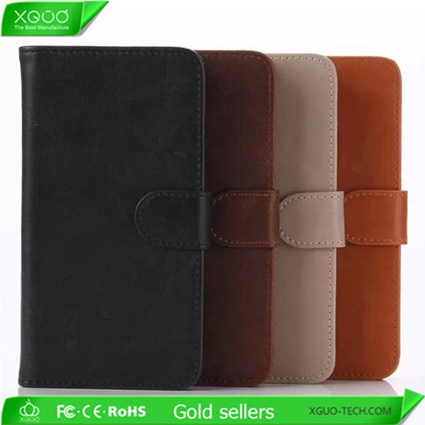 New arrival pu leather wallet case for lg g3 stylus cover
