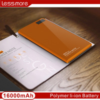 FCC certification innovative power bank 16000mah Dual usb LCD Power bank with logo your company free sample