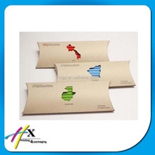 School used artistic cardboard crayon packaging beautiful pillow box