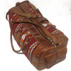 Bohemian Travel Bag Genuine leather