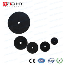 Durable ABS Tracking Tag RFID Coin Tag for Property Management