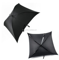 2015 High Quality Advertising Straight Square Umbrella