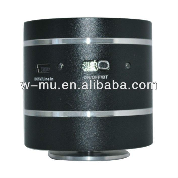 2013 novos produtos adin 10w vibrando mini alto-falante com função de bluetooth e bateria recarregável