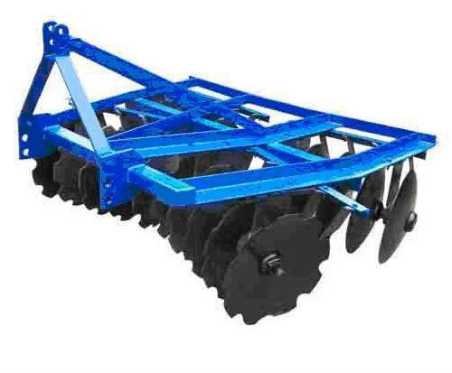 mounted light-duty disc harrow for agriculture