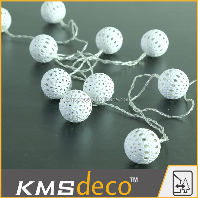 New design christmas tree decorative string lights for indoor and outdoor using