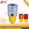 360 degreed Japan style solar traffic barricade light for cone with automatic light control ON/OFF