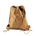 Untearable waterproof tyvek backpack tyvek drawstring backpack storage bag