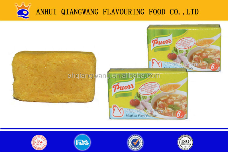 4G/10G cooking seasoning tablets , cooking soft bouillon cubes