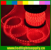 Topsung led rope flexible lights 12/24v 1/2'' 2 wire duralight led
