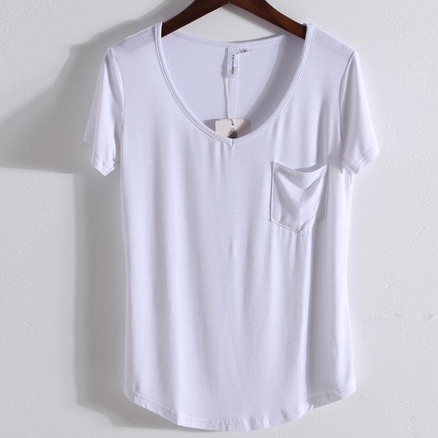 2017 new Albert Mordell t shirt comfortable short sleeves t shirt women plain white shirts