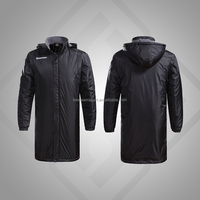 100% polyester interlock wholesale custom coaching winter jacket