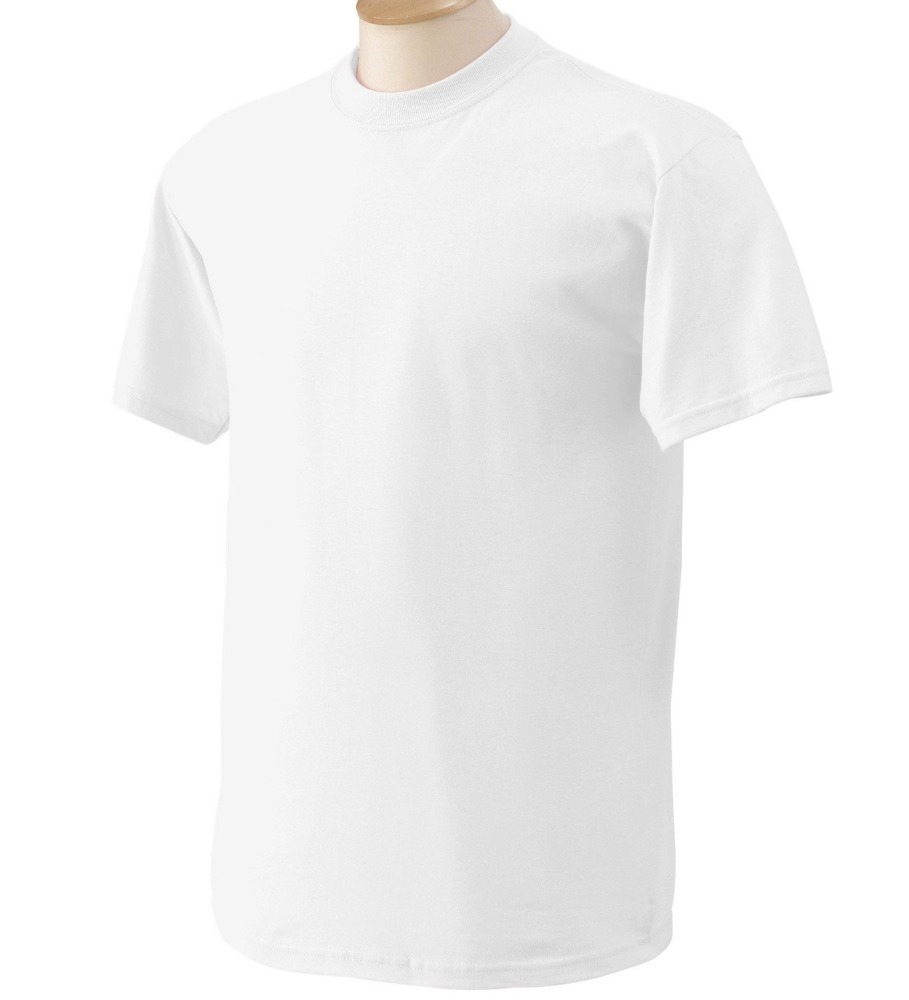 Customized Logo Promotional Gifts White Simple Basic T Shirt for Men Cheap Wholesale
