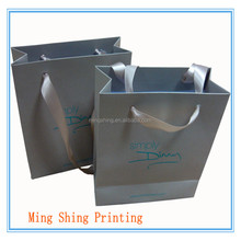 China factory/simple and portative style/hot selling Luxury paper shopping bag