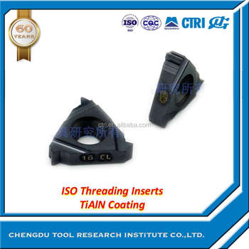 high quality ISO Threading Inserts turning insert coated carbide insert