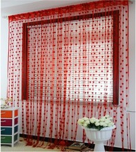 Factory directly provide new style simple door window curtain