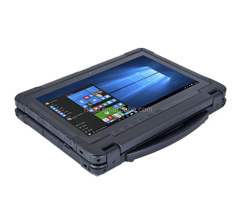11.6 inch  rugged laptop with GPS, 2D Barcode, Fingerprint and 8Gram DDR3 + 128G SSD
