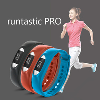 2016 Fashion Bracelet with Bluetooth 4.0 Sync Healthy Smart Healthy Bracelet Watch Wristband Sport Gym smartband