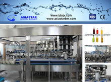 glass bottle alcoholic beverage fully automatic filling machine