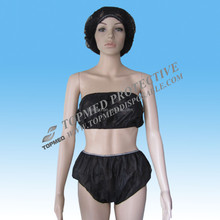 Disposable spp underwear panties and bra for women