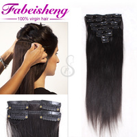 Wholesale Cheap 100 Human Hair remy cheap 100% human hair clip in hair extension