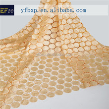 The Eco-friendly cotton polyester guipure lace fabric alibaba french china dubai fashion abaya 2014 for garment accessory