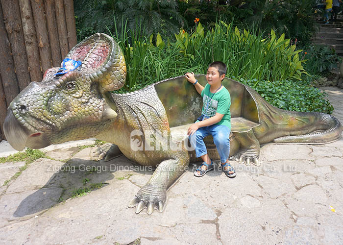water parks equipment, waterproof fiberglass dinosaur