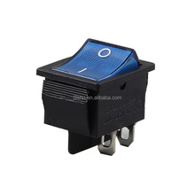 Wholesale With Blue LED Lamp KCD4 15/30A 250VAC rocker switch t85