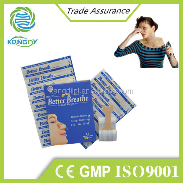 Best selling promotional products health care nasal strips