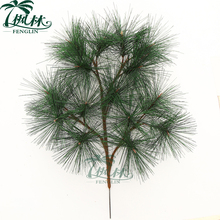wholesale artificial pine tree branches cheap artificial pinaster branches