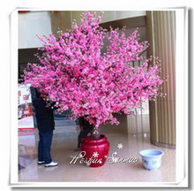 Artificial peach blossom tree and branches for home & outdoor decoration