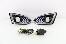 Super brightness high powe led Daytime running light For Ford edge fog lamp