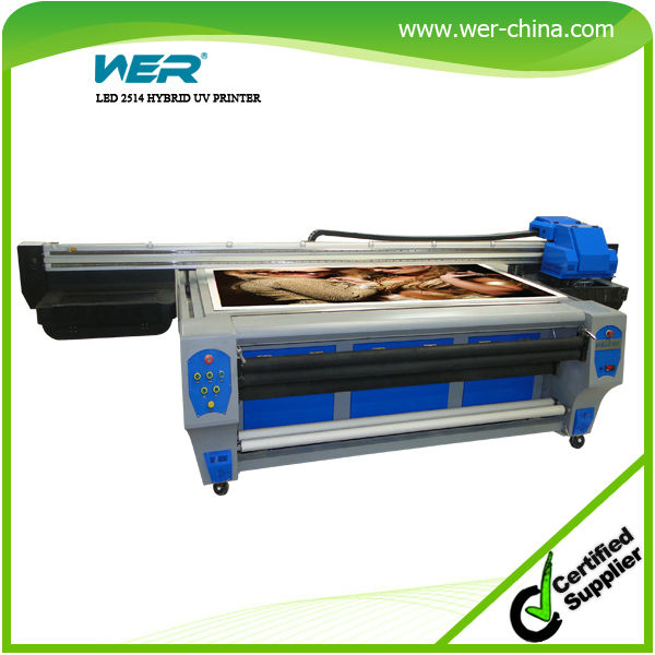 large format uv led flatbed printing machine digital ceramic tile printer
