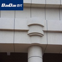 Baidai Eco-friendly Granite Stone exterior wall glitter paint