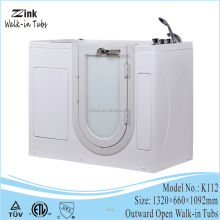 wholesale acrylic material newest walk in hot tubs