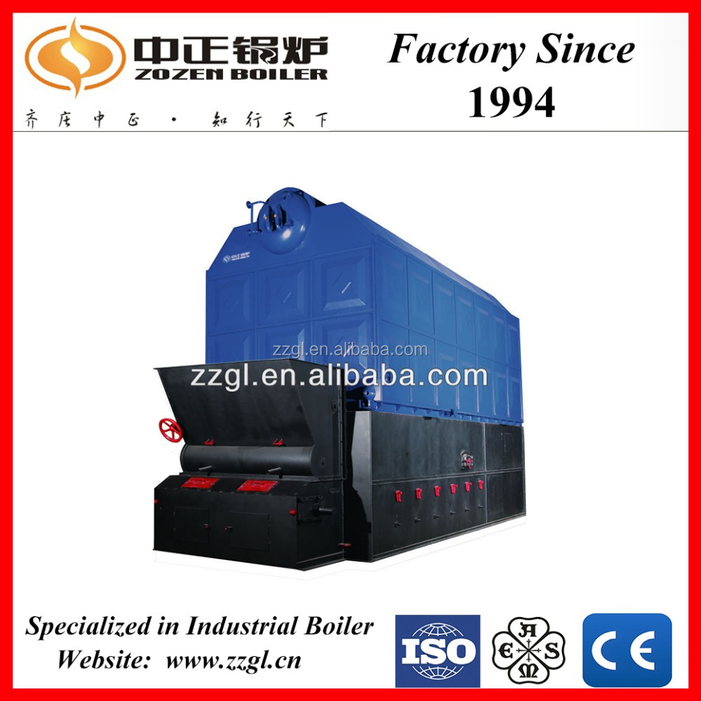 ASME/CE/ISO Certification Industrial Boiler SZL Series Coal Fired Water Pipe Steam Boiler