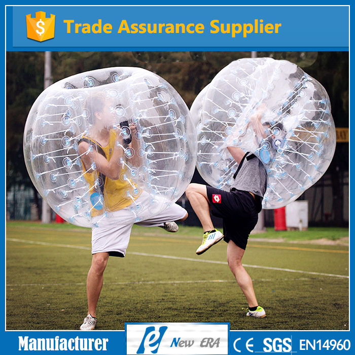 1.2m/1.5m/1.8m diameter kids and adult Inflatable body bumper ball for sale
