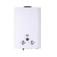 low water pressure wall mounted tankless gas water heater 7L price