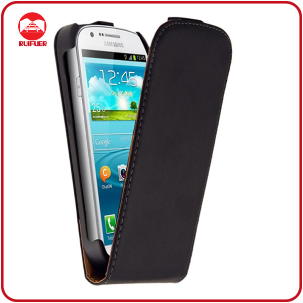 Hot Sale Genuine Leather Flip Case for Samsung Galaxy Express I8730