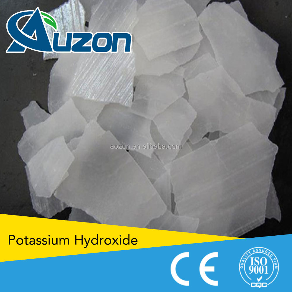Supply Potassium Hydroxide KOH with a competitive price