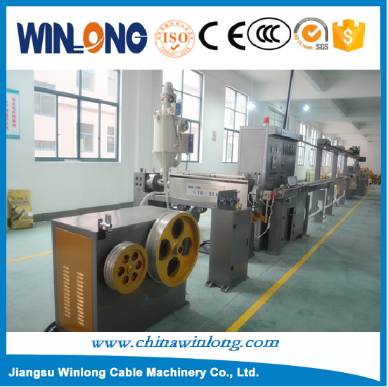Electric Cable Wire Single Twisting Machine Housing Wire Making Extruder Building Wire Insulation Extruder Machine