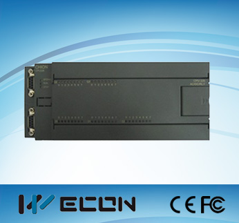 Wecon low cost plc relay 40 I/O and compatible with siemens plc s7-200 software
