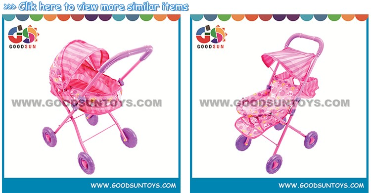 High-class hot selling baby dolls pram toys for kids