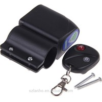Anti-theft Bicycle Cycling Security Wireless Remote Control Lock Vibration Alarm