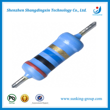 1/8w 1/4w color ring Carbon Film Fixed Resistor