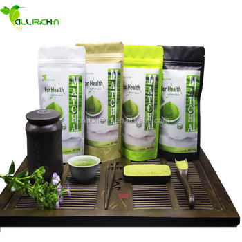 Free Samples Organic Matcha Green Tea Powder Private Label Available For Drink