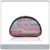 full color printed clear pvc travel makeup bag