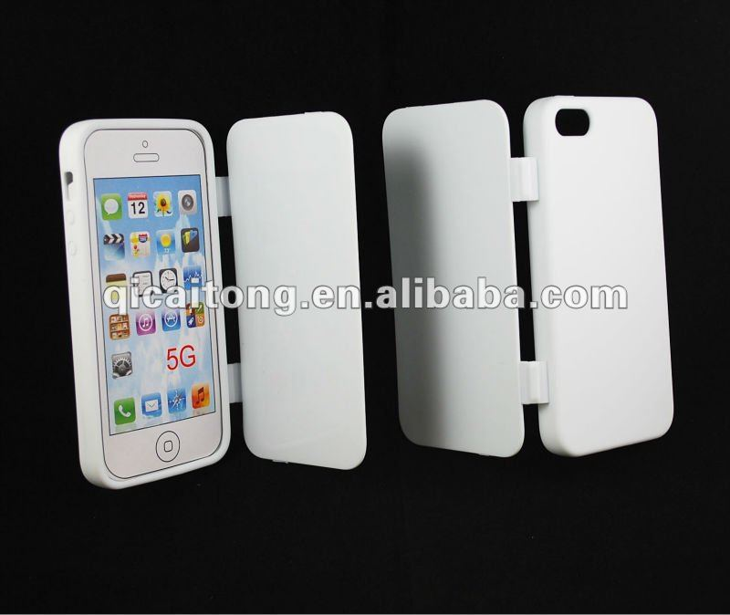 mobilephone accessory cellphone tpu skin case tpu+leather cover with scrub for iphone 5g