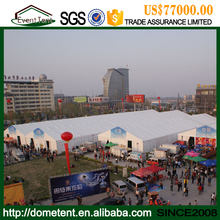 High quality brand exhibition marquree , 4000 sqm Huge Tent For Outdoor Party